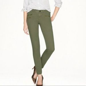 J Crew Toothpick Ankle Skinny Crop Jeans 30